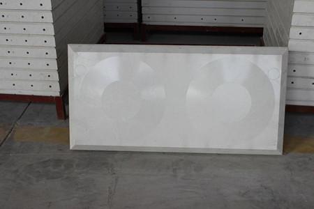 玻璃鋼生活水箱單闆效果圖