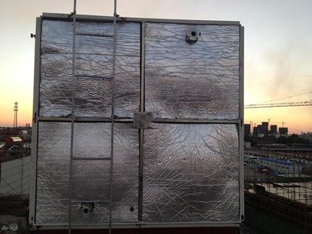 橡塑海绵玻璃钢保温水箱